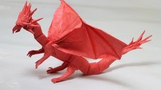 Origami Western Dragon instructions (Shuki Kato)