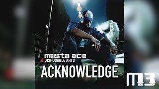 Masta Ace   DA : Acknowledge (Disposable Arts)