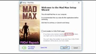 Mad Max Highly Compressed With Proof + All DLC [50MB] Download