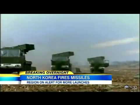 North Korea Fires Short Range Missiles