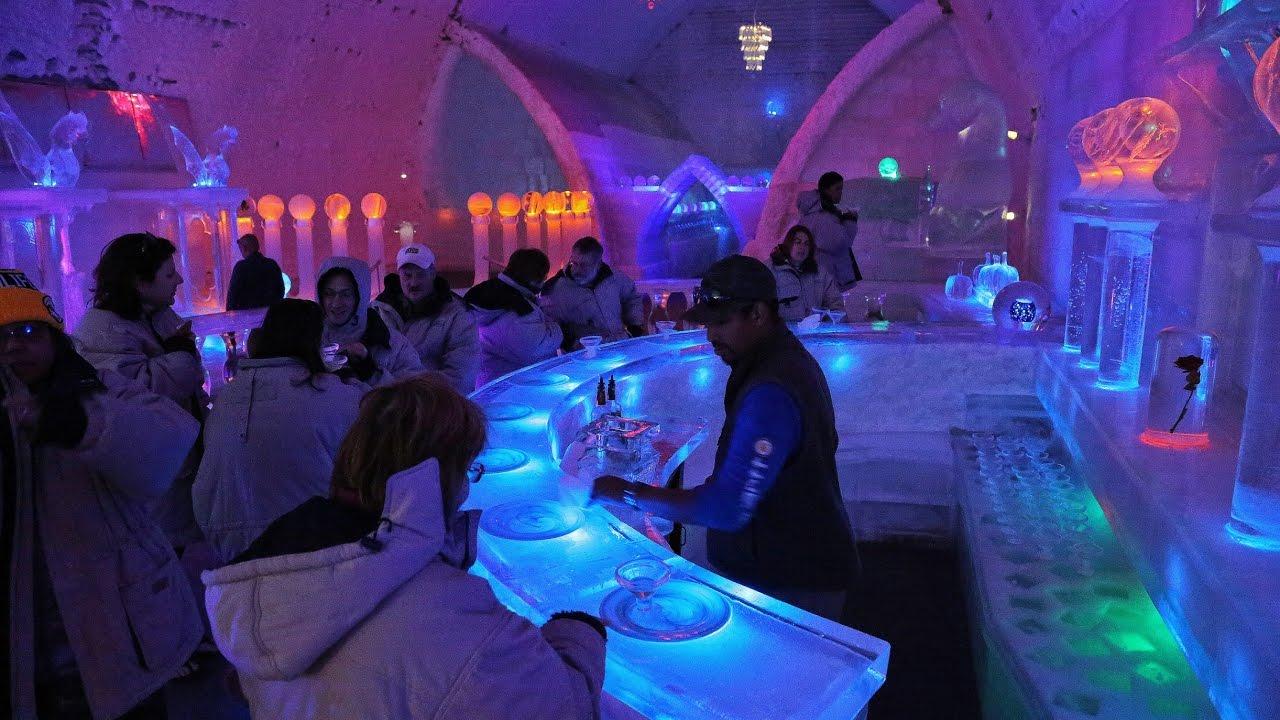 """Resultado de imagen de 2.- Aurora Ice Hotel, Alaska, Estados Unidos"""""""