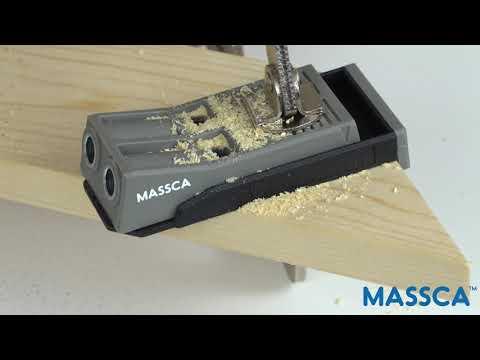 Massca Pocket Jig Hole System. DIY Woodworking Joints.