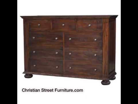 Bedroom Furniture Baton Rouge La 9 Drawer Dresser Christian Street Furniture Youtube