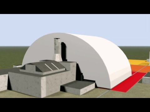 Chernobyl safe confinement