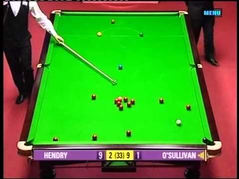2004 World Snooker Championship SF Ronnie O