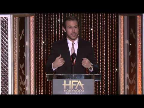 Ryan Gosling Presents Saoirse Ronan - Hollywood Film Awards