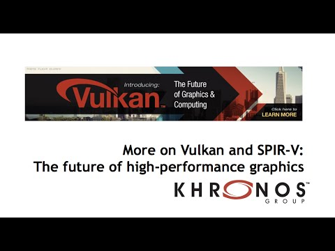 Vulkan and SPIR-V session