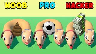 NOOB vs PRO vs HACKER - Cats & Dogs 3D screenshot 2