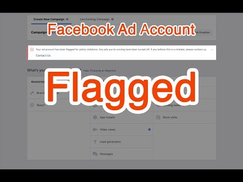 How to appeal ad account has been flagged for policy violations