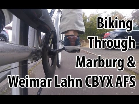 Biking through Marburg and Weimar Lahn Germany! CBYX AFS 2016-17