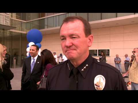 Jim McDonnell, assistant chief of the LAPD at the new headquarters