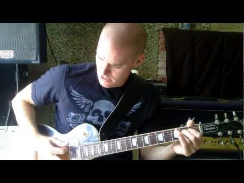 Iron Maiden:  Aces High guitar lesson, Les Paul, Marshall Vintage Modern