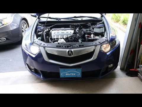 LASFIT LED Headlight Bulb Review White 6000k - 2010 Acura TSX Daytime Running Light 2009-2014 Model