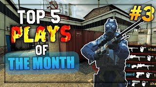 Top 5 Plays of The Month #3 (AUGUST 2018)