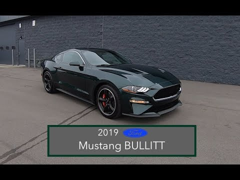 Ford Mustang BULLITT|Walk Around Video|In Depth Review