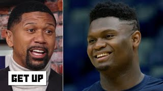 Jalen Rose is excited for Zion to make his 'dynamic debut' with the Pelicans | Get Up