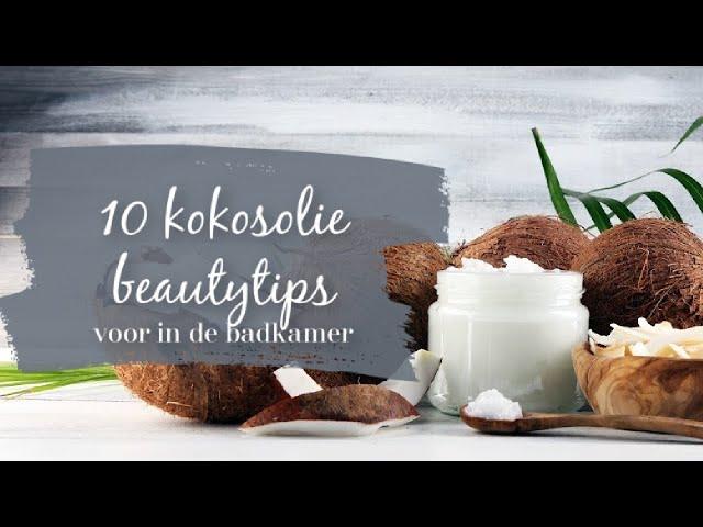 10 kokosolie beautytips