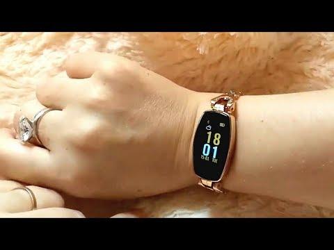 Топовые женские смарт часы LEMFO H8. Покупки с Али Экспресс. Модель 2019 года. Надо или нет🙄