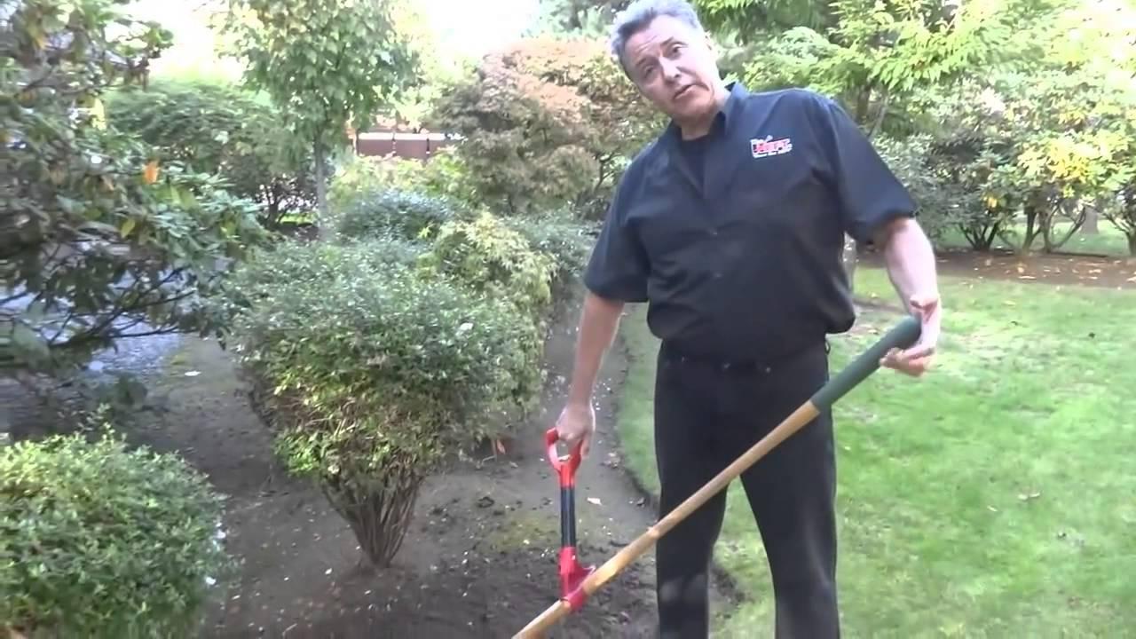 Using the heft ergonomic auxiliary handle garden tools for English garden tools yeah yeah yeah