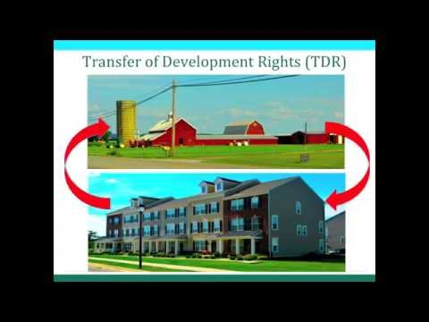 Rural Land Management Tools: Transfer of Development Rights (TDRs)