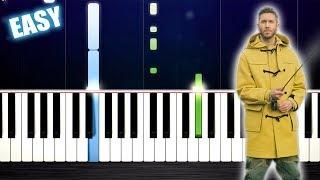 Calvin Harris, Rag'n'Bone Man - Giant - EASY Piano Tutorial by PlutaX Video