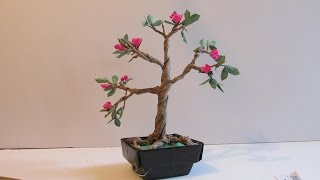 Make An Origami Bonsai Tree