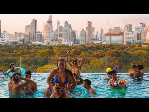 NICEST HOTEL IN ASIA | BANGKOK THAILAND EPIC POOL PARTY