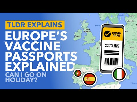 Europe's Vaccine Passports: Are European Holidays Available
