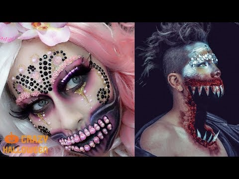 Halloween Makeup Edition - CRAZY HALLOWEEN 2018