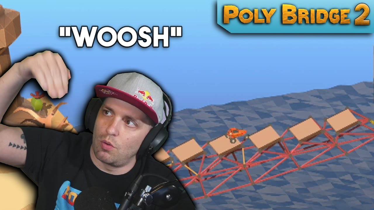 They named an entire level after me! | Poly Bridge 2
