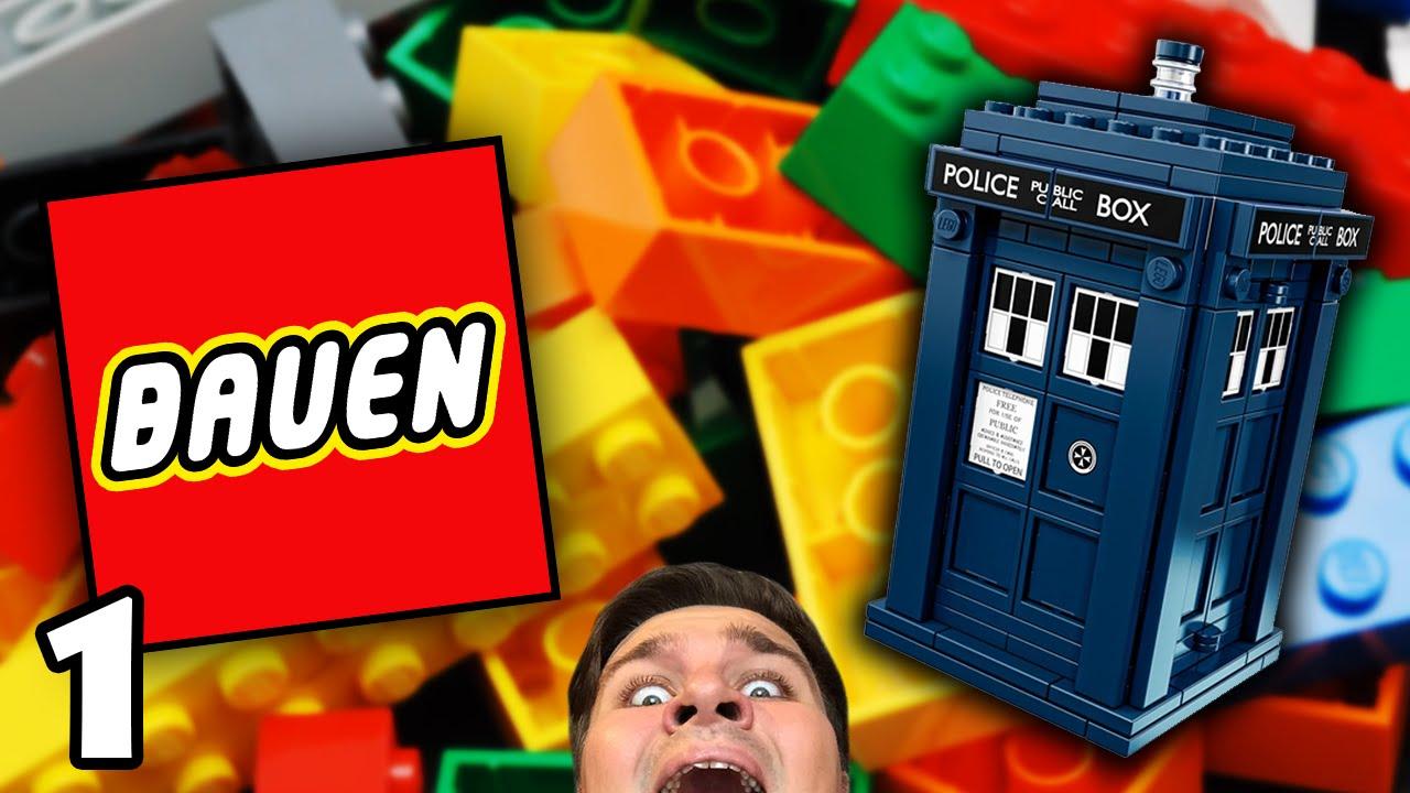 Innen größer, als wie von draußen - Bauen #1 (Doctor Who TARDIS LEGO ...