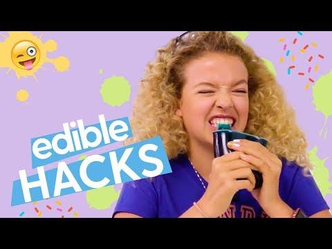 DIY Edible Crafts: Edible Glitter, Edible Geode Rocks, Edible Jello Cups | GoldieBlox