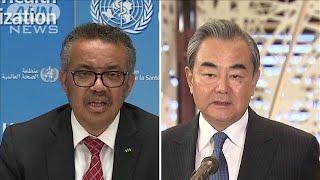 「WHO攻撃に根拠ない」中国外相がWHO支持 米念頭に(20/04/20)
