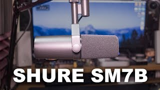 Shure SM7B Mic Review / Test