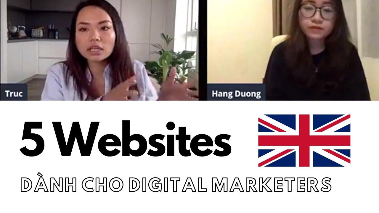 [Part 3] 5 Websites hữu ích Digital Marketers nhất định phải biết – Ngành Digital Marketing – SJSH