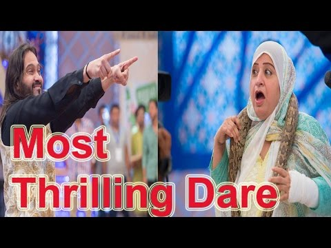 Waqar Zaka's Most Thrilling Dare on Jeet Plus | 11 June | A Plus Entertainment