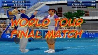 VIRTUA TENNIS 2 (PS2) - World Tour Final Match