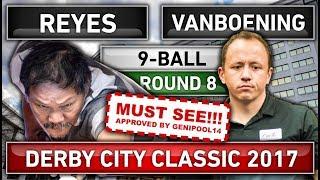 Efren Bata Reyes v Shane Van Boening ᴴᴰ 2017 Derby City Classic | 9-ball Pool