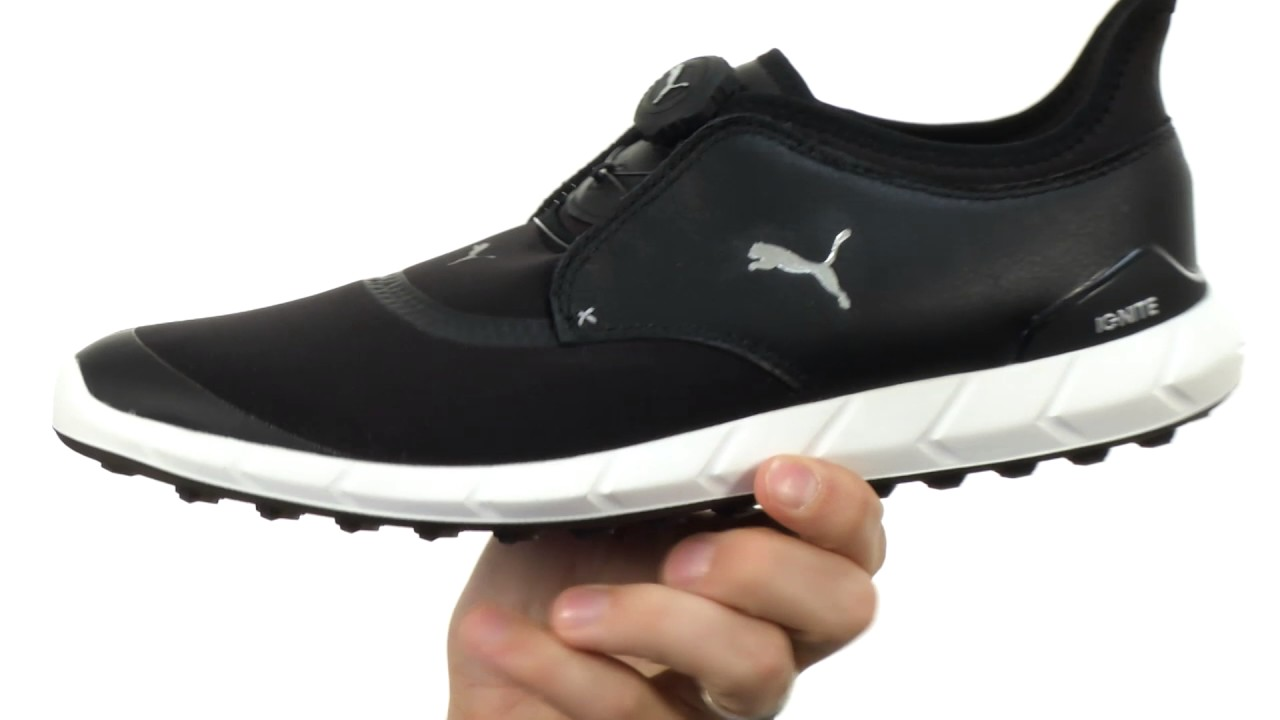 PUMA Golf Ignite Spikeless Sport Disc SKU 8873061 - YouTube 7f3ef447d