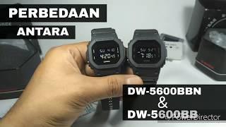 Perbedaan antara DW-5600BB dan DW-5600BBN gshockindonesia