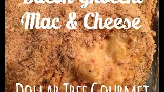 Bacon Gnocchi Mac & Cheese - Dollar Tree Gourmet
