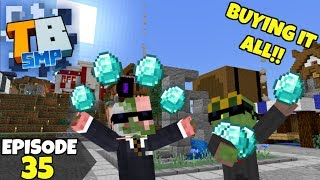 Truly Bedrock Episode 35! SPENDING EVERY DIAMOND! Minecraft Bedrock Survival Let's Play!