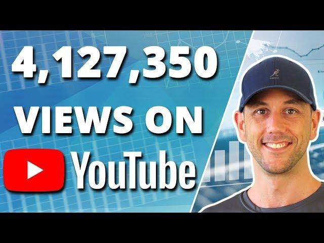 4,000,000+ Youtube Views In 2.5 Years! Month 30 Content Marketing & Analytics Update -