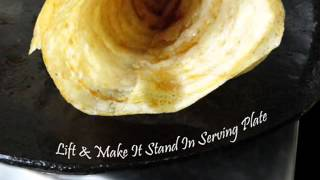 Oats Dosa - Breakfast - Indian Recipes - Andhra Telugu Vegetarian Food Cuisine Vantalu