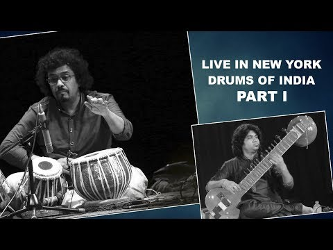 Drums Of India | Tabla Maestro Bickram Ghosh | Sitar Abhishek Mallick | New York Part 1.