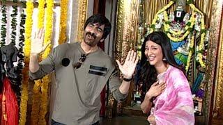 Ravi Teja's Krack Movie Opening Video | Shruti Hassan | Manastars
