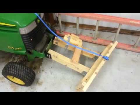 homemade-snow-plow-for-lawnmower-for-$12!-how-to.