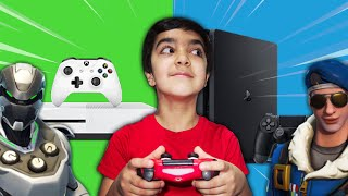 ps4-vs-xbox-fortnite-challenge-fortnite-1v1-with-my-little-brother-which-console-is-better