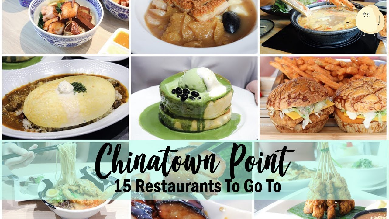 Chinatown Point Food Guide 15 Restaurants Cafes With The Ultimate Dinner Dining Promotions