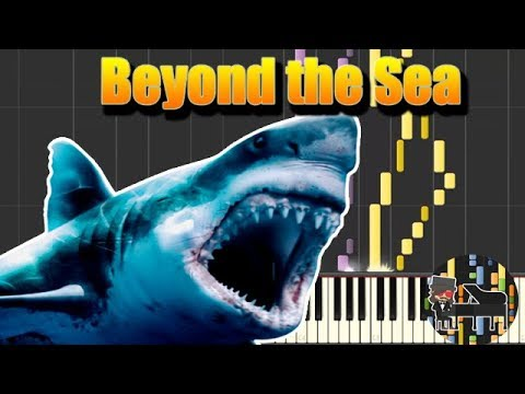 🎵 Beyond the Sea - The Meg (MEGALODON) [Piano Tutorial] (Synthesia) HD Cover